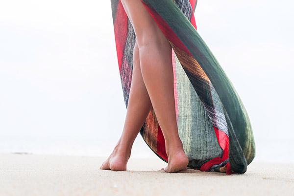 depilacion piernas playa